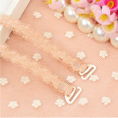 New Wide Bra Straps Sexy Decorative Women's Bra Straps Adjustable Intimates Accessories 1 Pair
