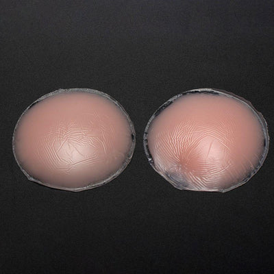 1Pair Cool  Self-Adhesive Silicone Breast Nipple Cover Bra Pasties Pad Reusable