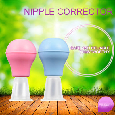 Portable Women Silicone Nipple Orthotics Pump Suction Corrector Puller Retraction Nipple Health Care Massage Tools Manual Breast