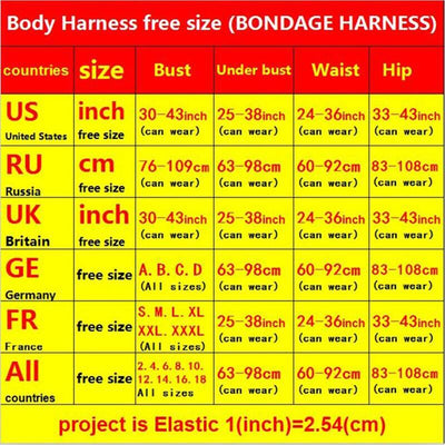 Harajuku Gothic bondage Women Top Body Harness Sexy Lingerie Bondage Harness Cage Bra Pole Dance Elastic Bra Harness Cage