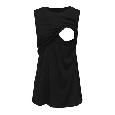 vetement femme 2019 Women Maternity pregnancy clothes dress Sleeveless Mom Nursing Baby Vest Pregnancy Breastfeeding Tops