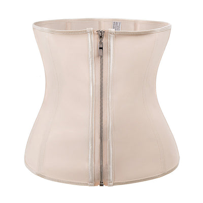 Miss Moly Latex Rubber Waist Trainer Body Shaper Modeling Belt Women 6XL Plus Size Cincher Corset Tummy Control Slimming Sheath