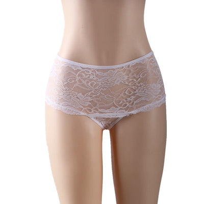 Tangas Mujeres Sexy Erotic Ladies Panties Hollow Out Lace Underwear Women Hot Sexy M-6XL Plus Size Panties Women Briefs P5011