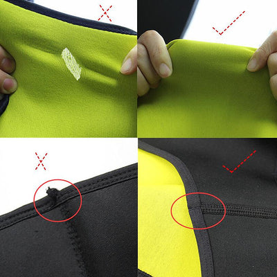 Body Shaper Slimming Shirt Sauna Neoprene Hot Shapewear Waist-Trimmer Slimming Pants Weight Loss Fat Burning T-Shirt Capri Pants