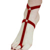 New Women Sexy Foot Decoration Multi Colors Polyester Foot Bandage Belt Foot Garter