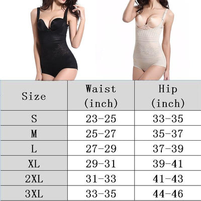 Women's Shapewear Body Briefer Slimmer Thin Full Body Shapers Bodysuits Waist Trainer Post Natal Postpartum Slimming Corset
