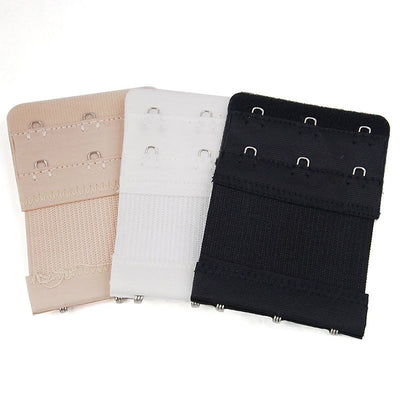 1Pc 3 Hooks Soft Bra Extender Strap Buckle Extension 3 Colors New Women Intimates Bra Strap Belt Replacement