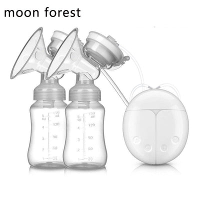 Double electric breast pump baby feeding bottle baby mom breast pump breast milk pump nipple suction touch button ER852
