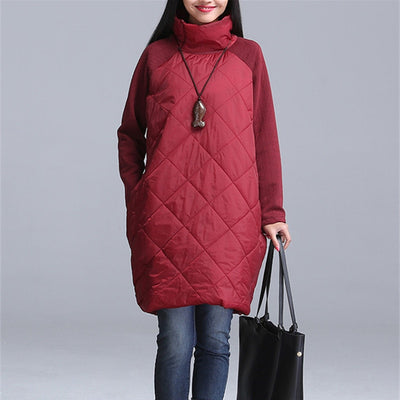 2018 Winter Jacket Women Cotton Long  Coat Outwear Warm Parka Feminina plus size  Winter Jacket women parkas M- 4XL 5XL 6XL 7XL