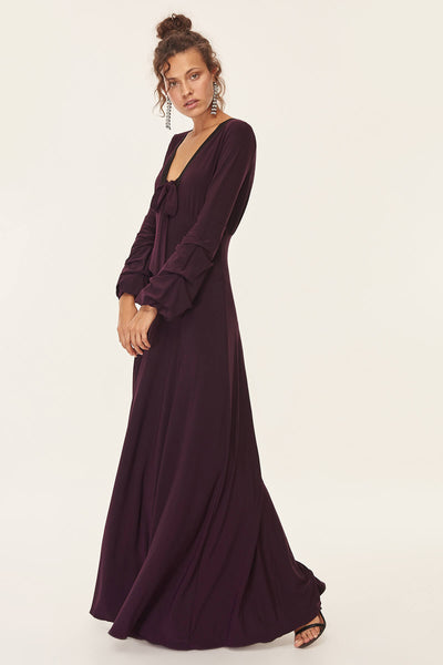 Trendyol Plum Evening Dress TPRSS18FZ0160