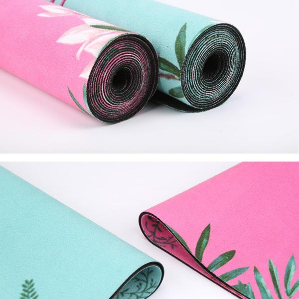 Natural Rubber Non Slip Yoga Mat for Women