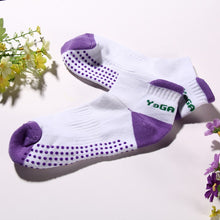 Load image into Gallery viewer, Non-Slip Cotton Yoga Socks