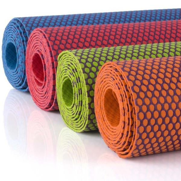 Natural Rubber Non Slip Yoga Mat