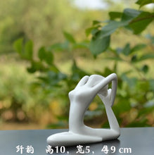 Load image into Gallery viewer, Desktop Simple Home Yoga Hall Decorative Ceramic Crafts Yoga Decoration Gifts Zen Decoration Wedding Accessories