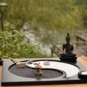 Yoga and Buddha Ying Yang Decoration
