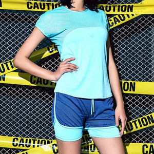 2 pcs Breathable Fitness Wear Set