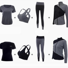 Load image into Gallery viewer, 4 in 1 Breathable Patchwork Sportswear