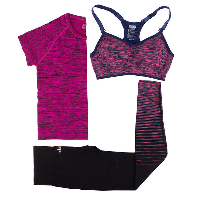 Quick Dry Fitness Gym Yoga Wear Set
