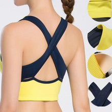 Load image into Gallery viewer, Wirefree Removable Chest Pad Sports Bra