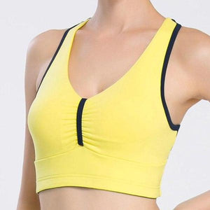 Wirefree Removable Chest Pad Sports Bra