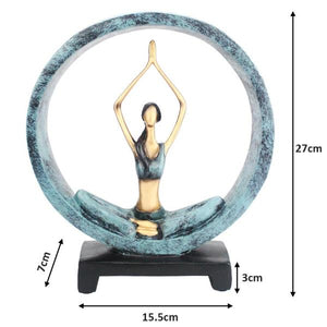Yoga Ceramic Ornament