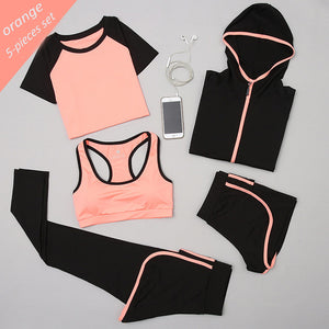 5 Pieces Yoga Fitness Set