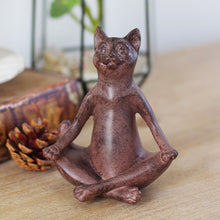 Load image into Gallery viewer, Yoga Cat Ornaments