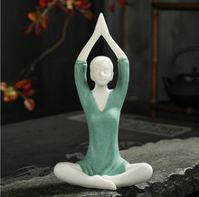 Load image into Gallery viewer, Yoga Girl Tea Pet Ornaments