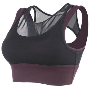 Padded High Impact Sports Top
