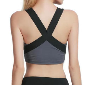 High Impact Cross Back Sports Top