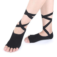 Load image into Gallery viewer, Anti-slip Five Fingers Silicone Toe Socks Ballet