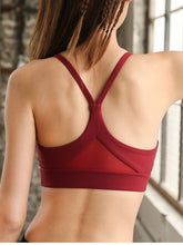 Load image into Gallery viewer, Push Up Racerback Padded Sports Top