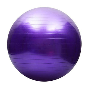 Sports Yoga Balls Bola Pilates Fitness Gym Balance Fitball Exercise Pilates Workout Massage Ball 55cm