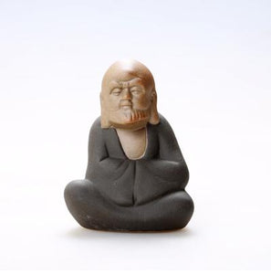 Small Buddha & Monk Ceramic Home Decor