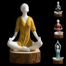 Load image into Gallery viewer, Ceramic Yoga Woman Home Decor