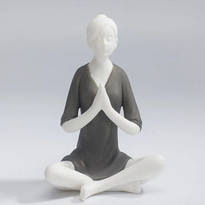 Ceramic Yoga Woman Home Decor