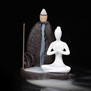 Backflow Incense Ceramic Burner
