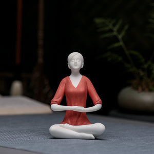 Yoga Hall Decoration Ceramic crafts