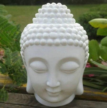 Buddha Head Ceramic Oil Burner