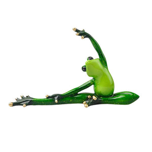 Creative 3D Yoga Frog Home Decor