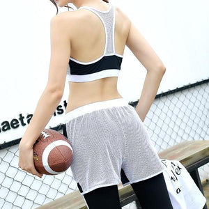 4 IN 1 Mesh Fitness Wear