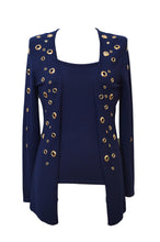 Passioni Twin Set - Navy/Gold