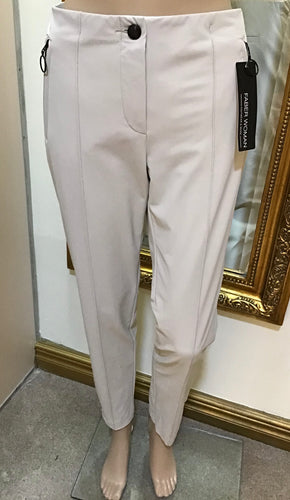 Faber Women Cream Trousers 52900