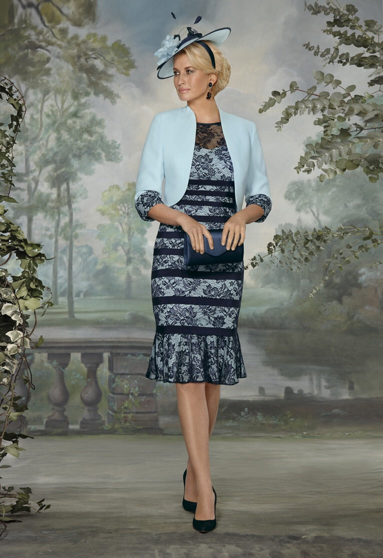 Condici Dress & Jacket - Seaspray 70832