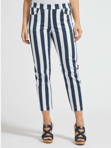 Laurie Faith Cropped Stripe Trousers