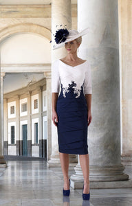 Irresistible Navy/Ivory Dress style IR5060