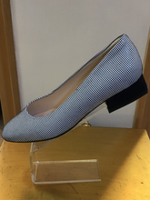 Peter Kaiser Zenia Navy/White Suede Flat shoes