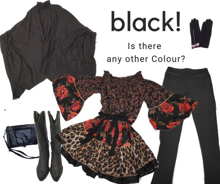 Favourite things Part 3 - Black! Is there any other colour?