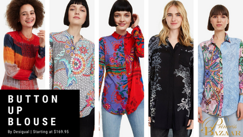 Desigual Button up Blouse