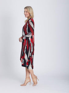 OPM by Cordelia St - Signature Long Line Jacket Red - MOJ26213